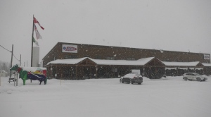 The St-Albert Cheese Co-op reopened its factory store on Saturday, Feb. 27 following a COVID-19 outbreak at the facility east of Ottawa. (Colton Praill/CTV News Ottawa)