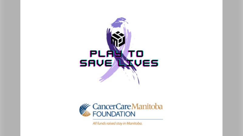 The Manitoba Esports Association has partnered with CancerCare Manitoba to raise money for cancer. (Source: manitobaesports.com)