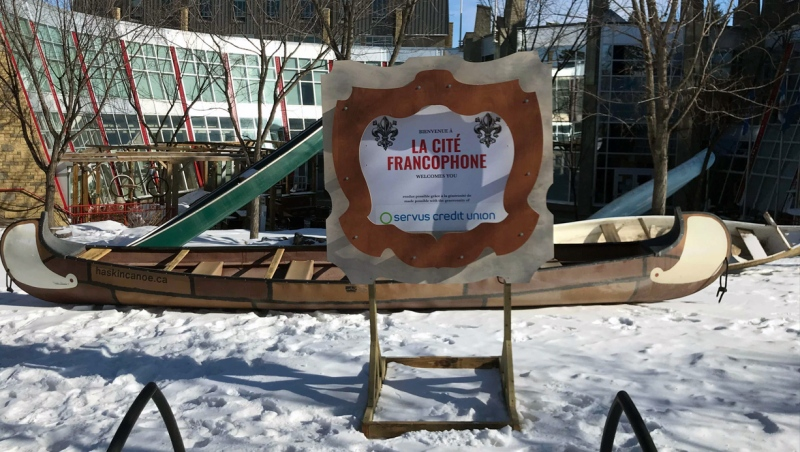 The Flying Canoe Volant runs from March 1-6, 2021. (Galen McDougall/CTV News Edmonton)