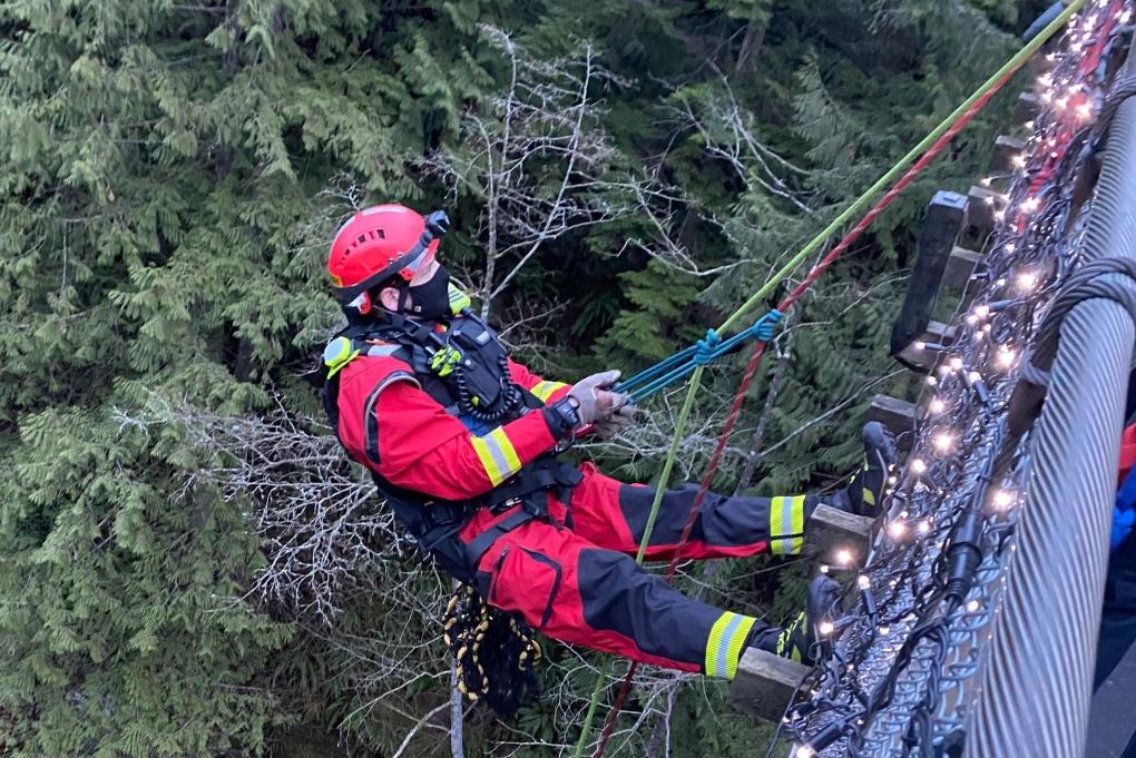 Capilano rescue