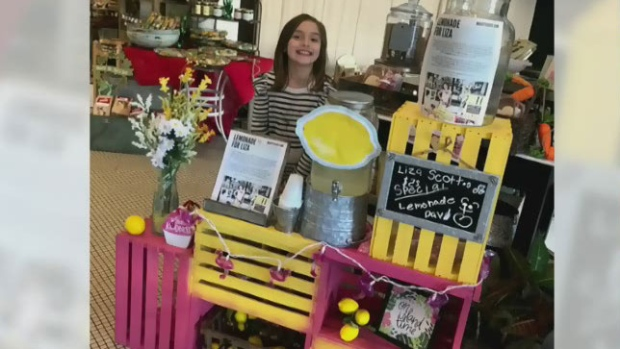 Story of 7-year-old girl selling lemonade to pay for brain surgery sparks outrage, empathy