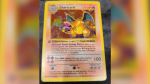 An Edmonton man sold this Charizard Pokemon card for $8,000. (Supplied)