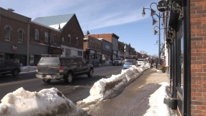 Bracebridge Ont. on Feb 28, 2021 (CTV Barrie Roger Klein)