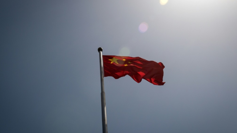 Flag of China. (AFP)