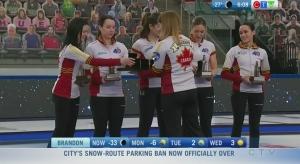 Team Canada wins Scotties rematch over Ontario