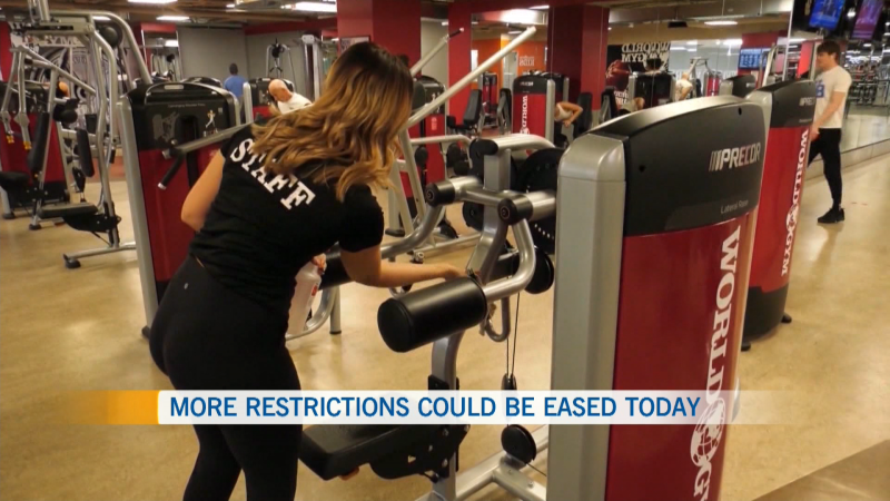 GoodLife gym COVID-19 restrictions reopening
