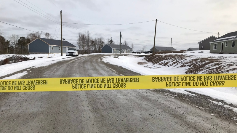 RCMP in Eskasoni say there is no longer a risk to the public after a man was taken to hospital with non-life threatening injuries after being shot on Sunday night. (Photo: Kyle Moore / CTV Atlantic)