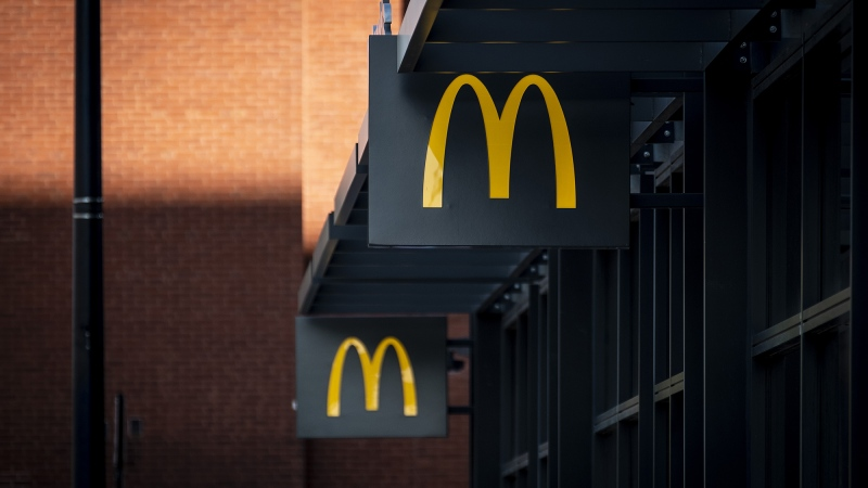 "Sexual harassment against McDonald's restaurant employees ""will not be tolerated,"" McDonald's CEO Chris Kempczinski said in a statement responding to a CBS News report detailing some female employees' disturbing allegations. (Christopher Dilts/Bloomberg/Getty Images via CNN)"