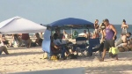 Spring breakers flock to Florida beaches despite p