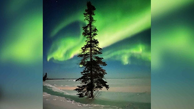 Clearwater Northern Lights. Photo by Pat Johnson.