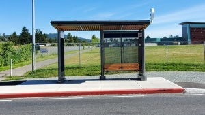 Roughly 150 new bus shelters are planned for B.C., with each being constructed specific to the weather conditions in their area: (Province of B.C. / Flickr)