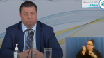 P.E.I. Minister of Economic Growth, Tourism and Culture, Matthew MacKay as he made an unscheduled announcement Monday. (Photo: P.E.I. Government)