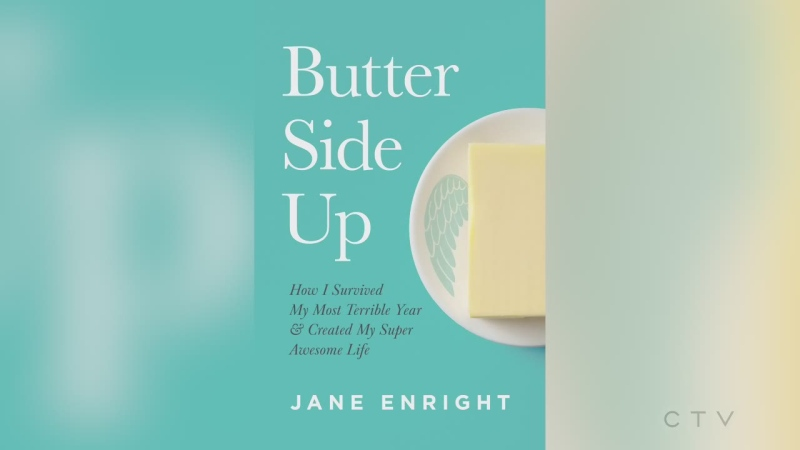 CTV's Tony Ryma talks to author and positivity expert Jane Enright about her new book 'Butter Side Up' and staying in a positive mindset. (CTV Northern Ontario)