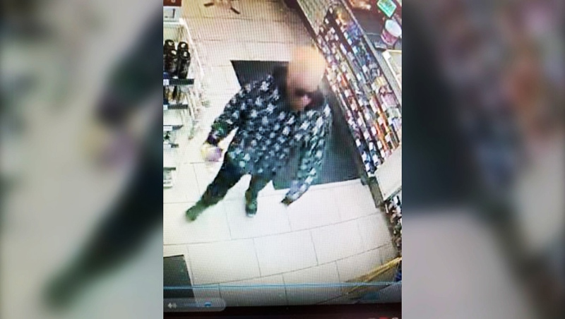 Lethbridge police would like anyone who recognizes the suspect in this Feb. 14 robbery video to contact them