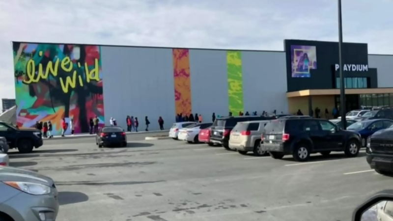 Some are questioning why a video game complex, such as the Playdium at Dartmouth Crossing, can have so many people inside while amateur sports events are cancelled.