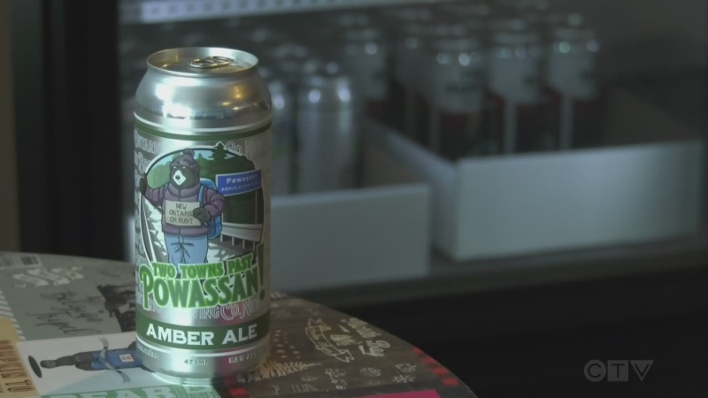 New Ontario Brewing put out a limited edition craft beer named after the town of Powassan and it???s flying off the shelves.