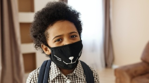 A small study in Italy looked at children under the age of 12 to assess whether wearing a mask would obstruct their breathing, and found no respiratory change. (August de Richelieu / pexels.com)
