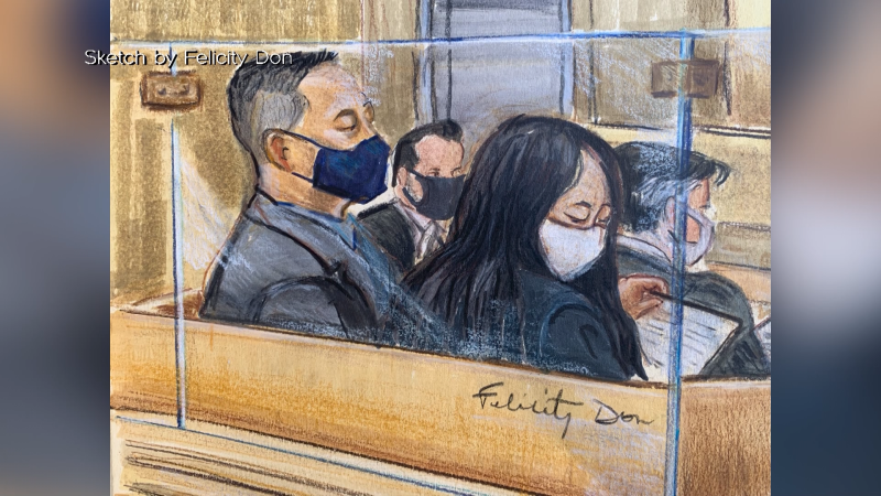 Meng lawyers argue Trump interfered