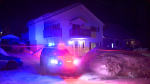 Police are investigating an alleged attempted double homicide in the Laurentians which would have occurred on the evening of March 1, 2021. (Cosmo Santamaria, CTV News)