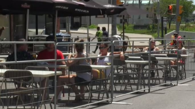 From CTV Kitchener: Councillors in Guelph have decided to only close streets in the city's outdoor dining district for special events.