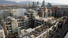 The Vancouver Athletes' Village. Darryl Dyck/The Canadian Press