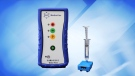 GLC Medical in Edmonton, Alta., claims its SARS-CoV-2 Insta-Test can detect COVID-19's viral antigens within 15 seconds of a saliva test. (Source: GLC Medical)
