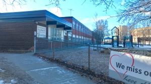 Donwood Park Public School is seen on March 2, 2021. (Francis Gibbs/CTV News Toronto)