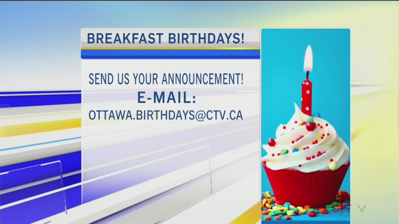 CTV Morning Live Birthdays Mar 02