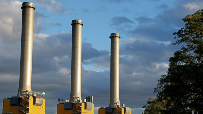 Energy-related emissions were two per cent higher in December 2020 than in the same month a year earlier. (AFP)