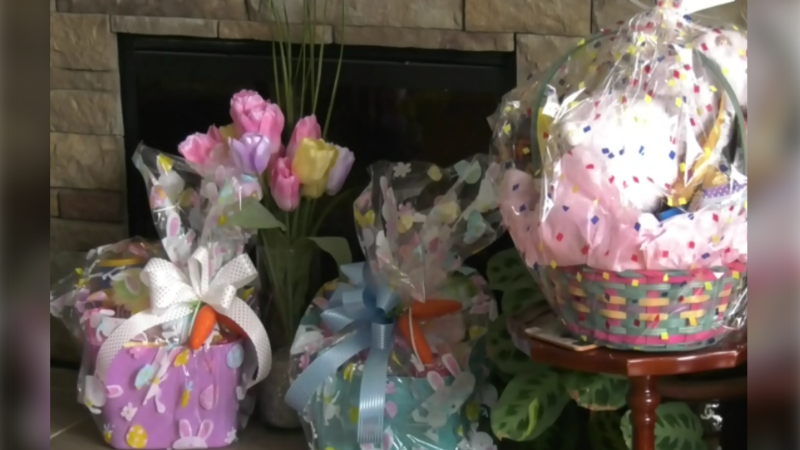 Halifax-based community group, Santas for Seniors, decided to make Easter baskets for seniors, containing items like sweets, personal care items, children's artwork and much more.