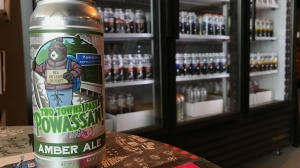 Two Towns Past Powassan by New Ontario Brewing. Mar. 1/21 (Alana Pickrell/CTV Northern Ontario)