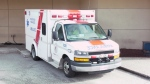 A B.C. ambulance is seen in this file photo from March 2021.