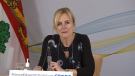 P.E.I. chief public health officer Dr. Heather Morrison provides an update on COVID-19 in the province on March 2, 2021.