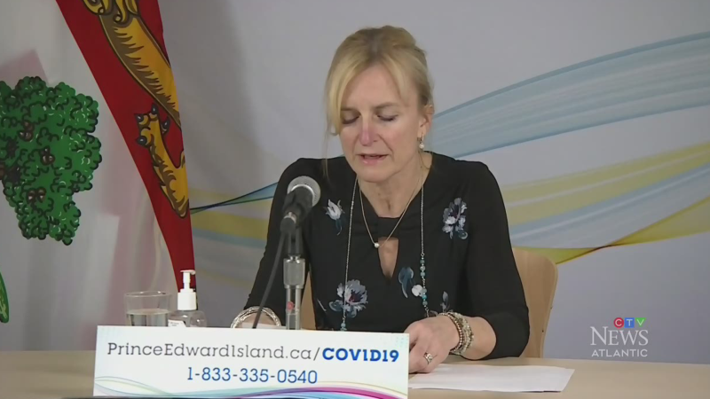 P.E.I. reports four new COVID-19 cases Tuesday