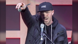 "Classified, from Enfield, N.S., has eight nominations including Album of the Year, Rap-Hip Hop Recording of the Year and Song of the Year for ""Good News."" THE CANADIAN PRESS/Andrew Vaughan"