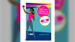 A sample selfie station is seen in this graphic presented in City of Toronto, Toronto Public Health Playbook for the COVID-19 Vaccination Program.