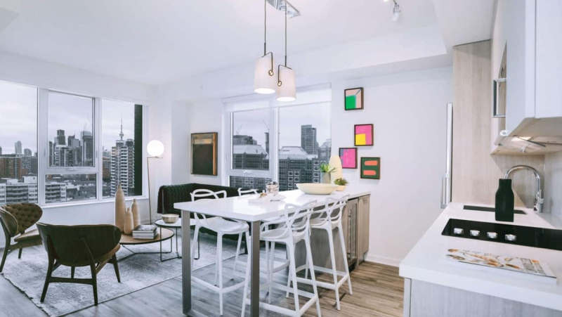 A Toronto condo developer wants you to move into one of its downtown properties and will pay your first month's rent and cover your moving expenses if you do. (Tricon Residential)