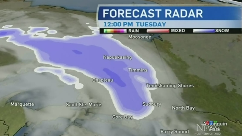 More snow in the northeast before the sun returns