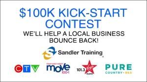 $100K Kick-start Contest Header