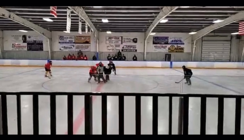 Sask. Hockey is looking into a video of an Estevan team breaking the public health order. Source: Facebook / Kerry Siever Babyak
