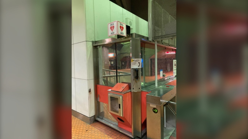 Over 70 emergency defibrillators are being installed in Montreal's metro system. (Photo: STM)