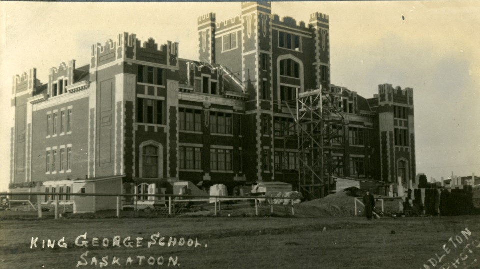 King George School. (Saskatoon Public Library Archives)