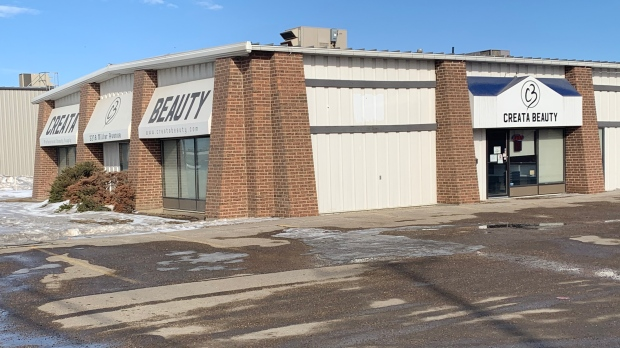 A 49-year old man is recovering in hospital after being stabbed at a business in the 2200 block of Millar Avenue on Monday, Saskatoon police say.