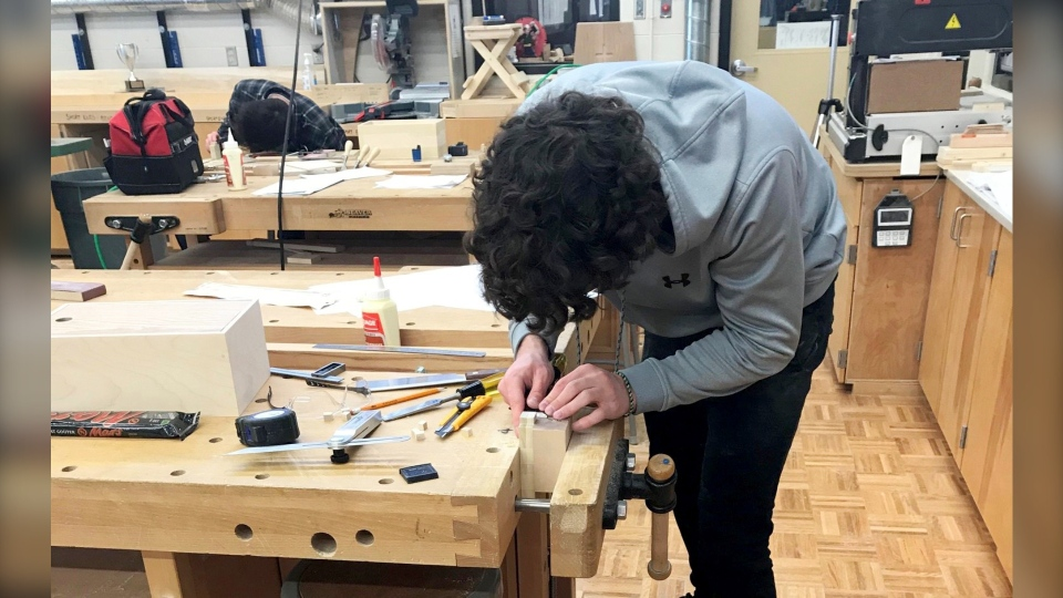 Devon Zuchotzki Skills Alberta