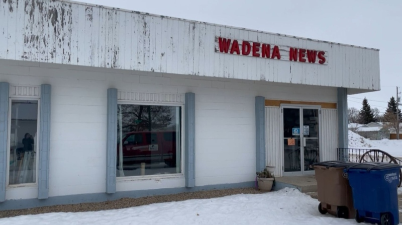Wadena newspaper housing strays
