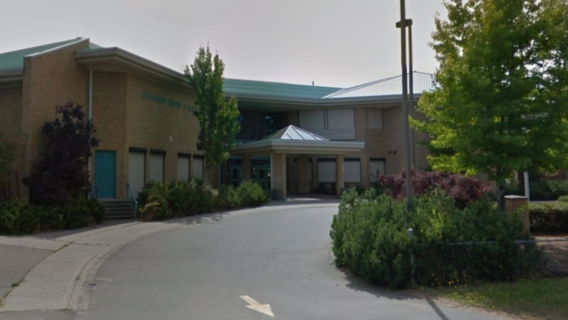 École Oceanside Elementary School in Parksville is pictured: (Google Maps)