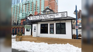 Joanna McLeod, one of the owners of the 1886 Buffalo Cafe at Eau Claire said the restaurant was 'blindsided' when the City of Calgary issued them a 90 day eviction notice on Feb. 1, 2021.