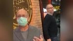 Men caught on camera berating restaurant staff