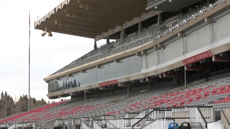 Summer event organizers such as the people who run the Calgary Stampede are anxious about how to plan for the upcoming summer's events. Jordan Kanygin reports