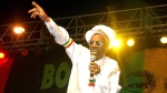 FILE - In this Feb. 6, 2005 file photo, Bunny Wailer performs at the One Love concert to celebrate Bob Marley's 60th birthday, in Kingston, Jamaica. (AP / Collin Reid, File)